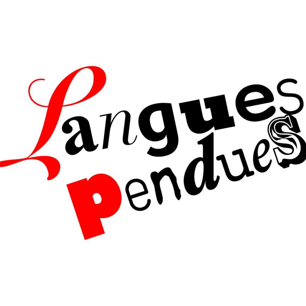 logo langues pendues lettres