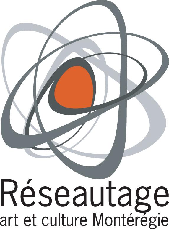 Réseautage art et culture Montrégéie, logo